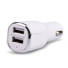 Good quality shape portable car battery charger for toy car, dual usb car charger