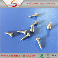 Wholesale china import pan flanged head bottom price galvanized pan head self tapping screw