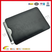 Environmental microfiber leather case for ipad air 3 in black high quality factory price new product