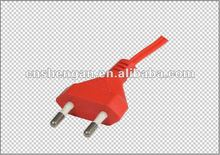 VDE approved 2 pin germany type ac power plug,220v stecker