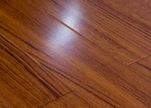 High Gloss Teak Engineered Wood Flooring UV Coating