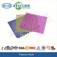 titanium mesh Orthopedic implant instruments first aid medical confumbles Hospital surgery medical implant cranial plate