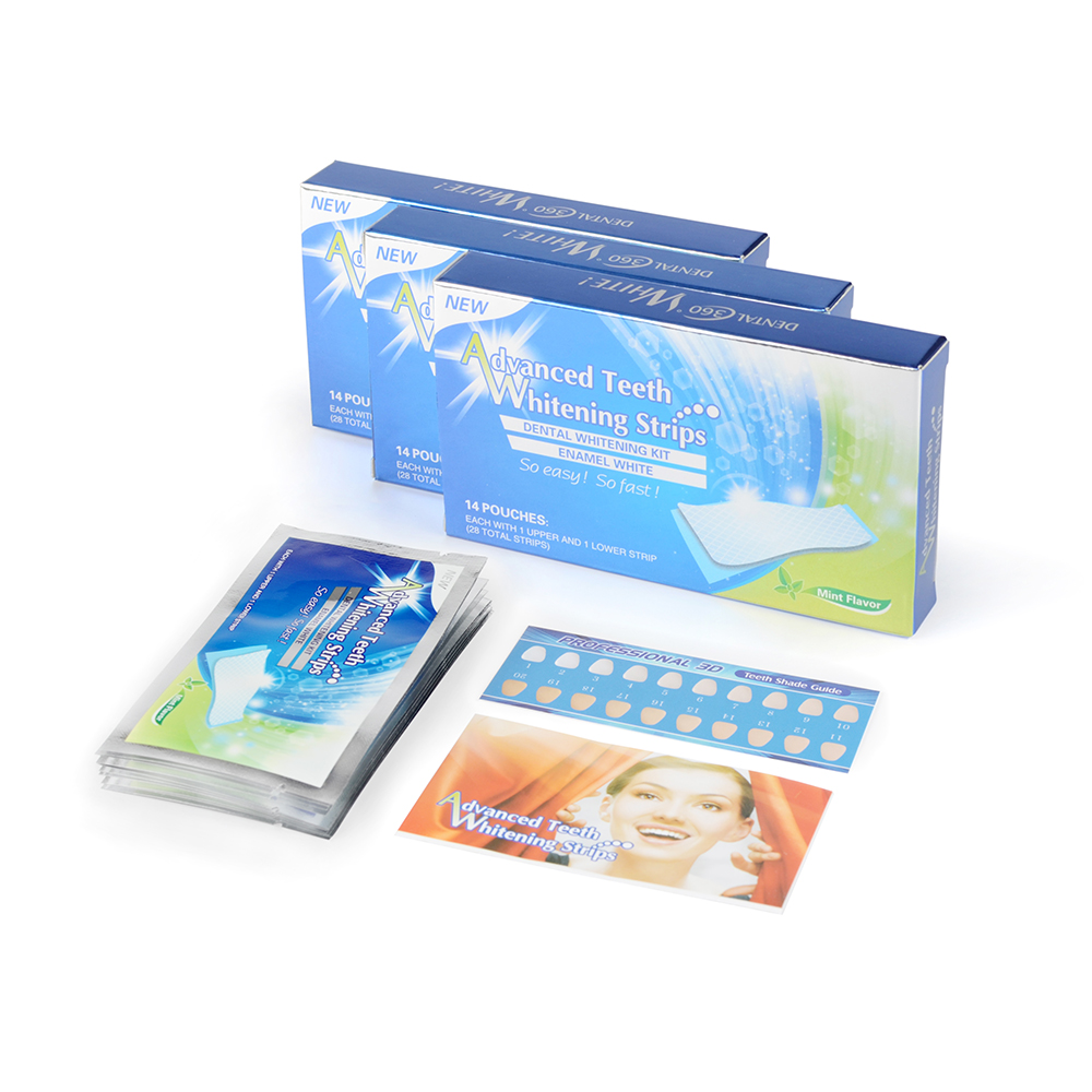 CE Approved Professional 6% HP Dissolving Whitenig Strips Faster Teeth Whitening Strips For Sale