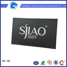 China Directly Factory Cheap Custom Centerfold Woven Label Shoes Private Label Manufacturers