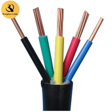 pvc insulated cable 0.75mm2, 2.5mm pvc cable, pvc cable 4x6mm2 factory supply