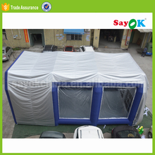 Cheap used car inflatable paint booth price for sale