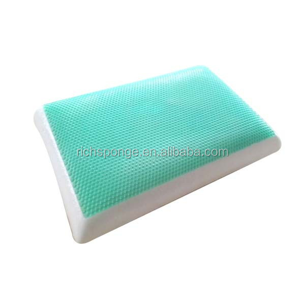 silicon gel memory foam pillows