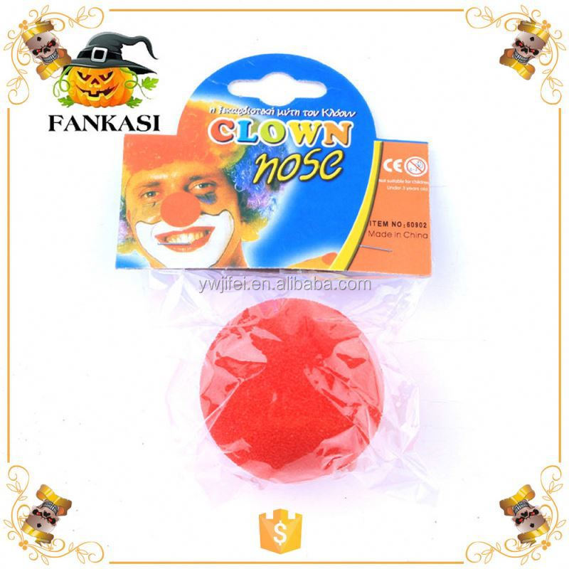Party Red Foam Clown Nose