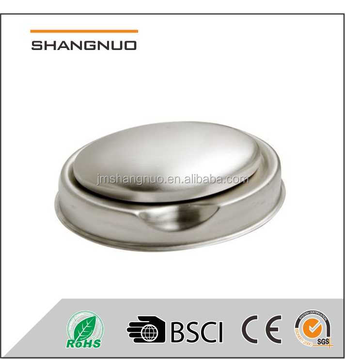 Stainless steel seafood soap with holder