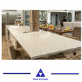Wholesale glass crystal artificial quartz countertops