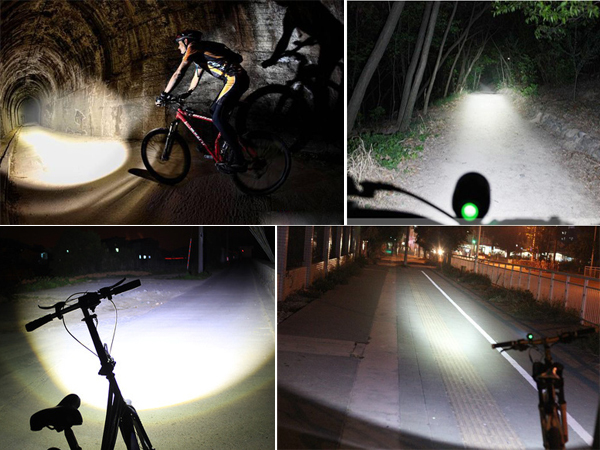 Cr Ee Led High Power Bicycle Light Rechargeable Led Bike Lights