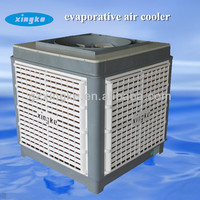 New plastic cabinet 18000m3/h airflow electronic water conditioner / cold room evaporative air cooler