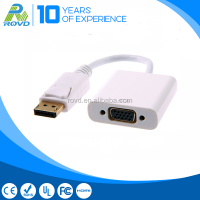 DP male to VGA female converter Displayport to VGA adapter