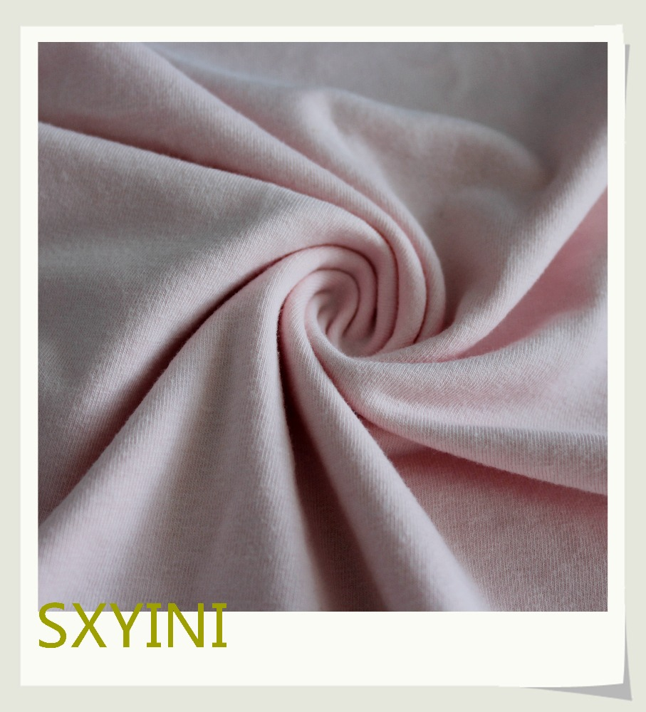 shaoxing YINI new sample 40s Combed cotton spandex fabric for clothes fabric