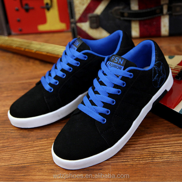 Wholesale men's fashion shoes in china latest canvas shoes men