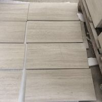 Wooden White Marble With White Wood