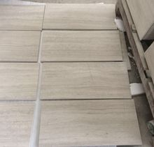 Wooden white marble with white wood veins,China white wood marble tile and slab
