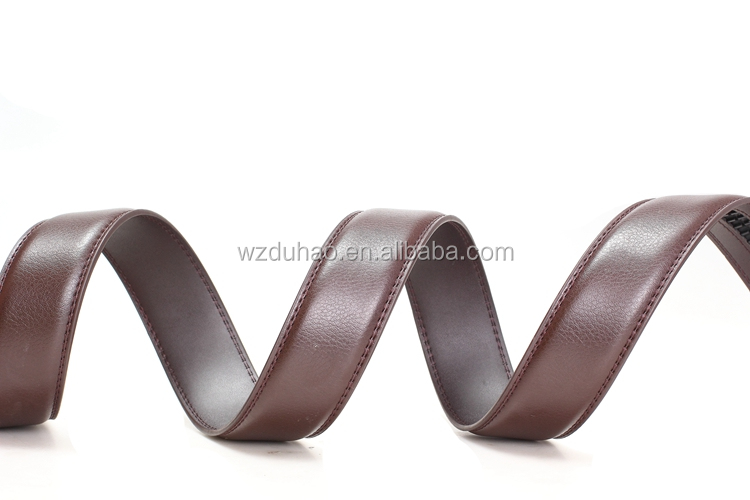 Custom High Quality Handmade Western Style Leather Belts For Men Without Alloy Buckle