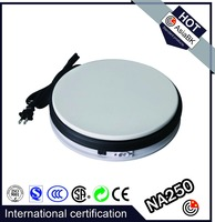 international CE Daniel 100kg bearing base supplier display stand turntable for person/mannequin/machine/car