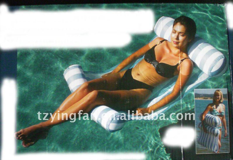Water Hammock Inflatable Pool Lounger