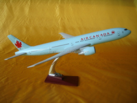 boeing resin airplane model
