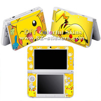 Wholesale Vinyl Skin Sticker for Nintendo 3ds xl for dsi xl for 3ds with Mix Designs