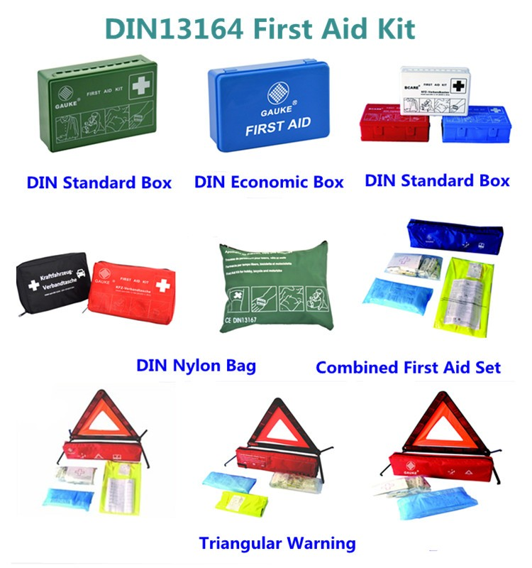 European Safety Travel Kit For Car Taxi And Small Vans