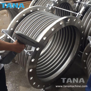 Stainless steel 316L Metal Bellows Corrugated Pipeline Expansion Joint