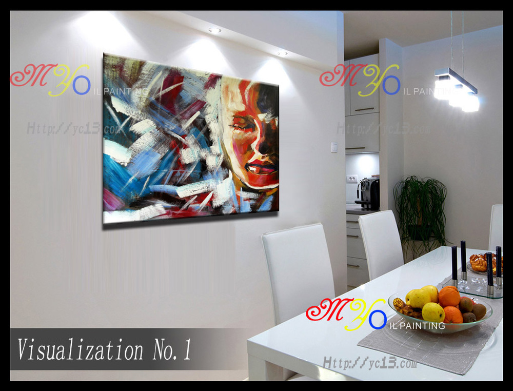 factory direct wholesale scenery abstract canvas oil paintings on canvas