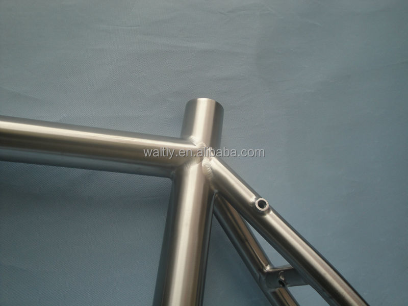 Street bicycles titanium road bikes fixie frame supplier