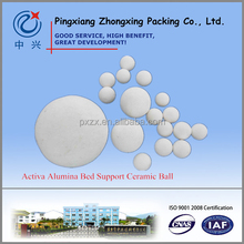 New Active 40%-50% Alumina Catalyst Bed Support Ceramic Ball