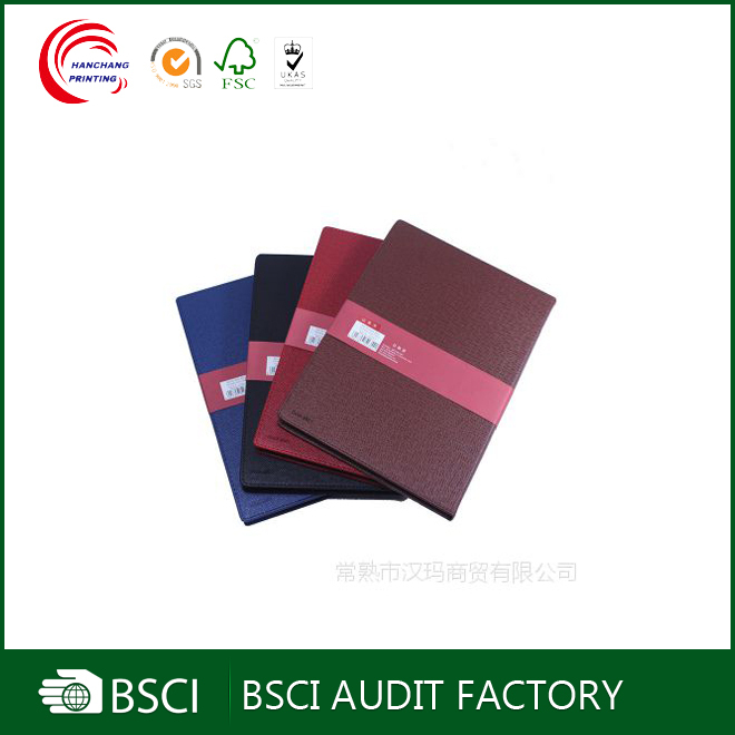 Leather small size cheap bulk blank notepad