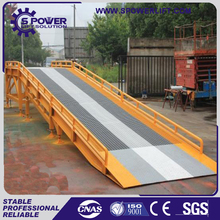 SPRM New style of hydraulic dock ramp used for container loading and unloading horse trailer ramp