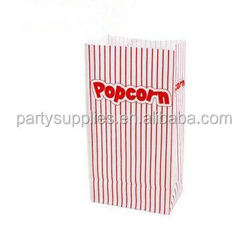 Big Size Popcorn Striped Paper Favor Bags - Buy Paper ...