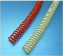 machine for Flexible plastic hose with corrugated pvc spiral