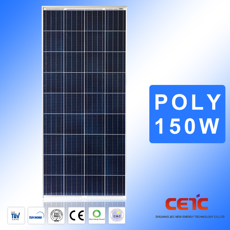 Long Lasting Low Price Per Watt Solar Panel 150W Polycrystalline From Factory Directly