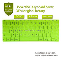 "Colorful Silicone 11.6"" Keyboard Cover skins sticker protector for MacBook"
