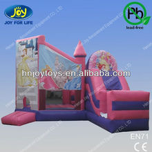 Snow White Kids Play Inflatable Princess Bouncy Castle For Sale