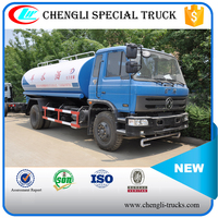 Dongfeng 6 Wheeler 4*2 190hp 14000 liters Water Truck Water Carrier Truck