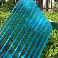 Efficient high quality hollow pc solar sheet