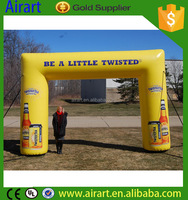 Customizable logo racing Inflatable arch inflatable finish line