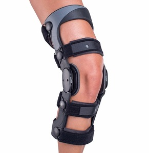 Orthopedic leg brace / angle adjustable knee brace / medical post-op knee support