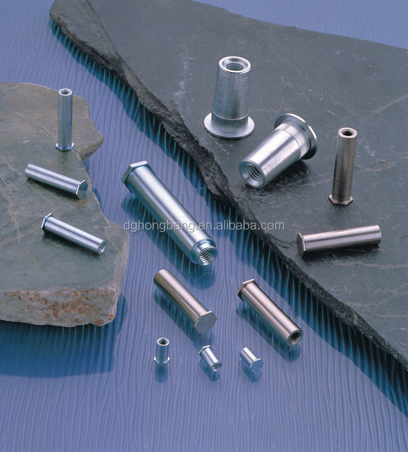 OEM Precision Turning Self Clinching Blind Hole Broaching Type Standoff Fastener