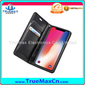 High Quality Flip Leather Wallet Mobile Phone Case For iPhone X