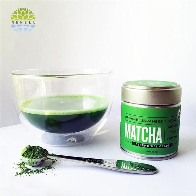 Japanese style digestion improving japanese matcha tea in stock