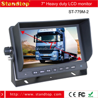 Good Quality 7 inch Car LCD Monitor MINI TV For SONY/Sharp CCD Camera