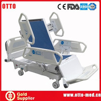 8 function electric hospital recliner chair bed