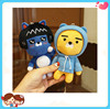 Wholesale Multi Choice Funny Cute Cartoon Toys Kakao Friend Stuffed Plush Mobile Phone Case