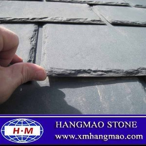 Cheapest Black Natural Thin Slate Stone Pieces