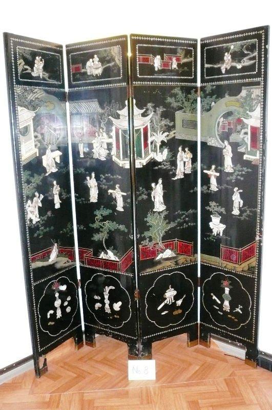 original antique chinois paravent stocks cadeaux. Black Bedroom Furniture Sets. Home Design Ideas